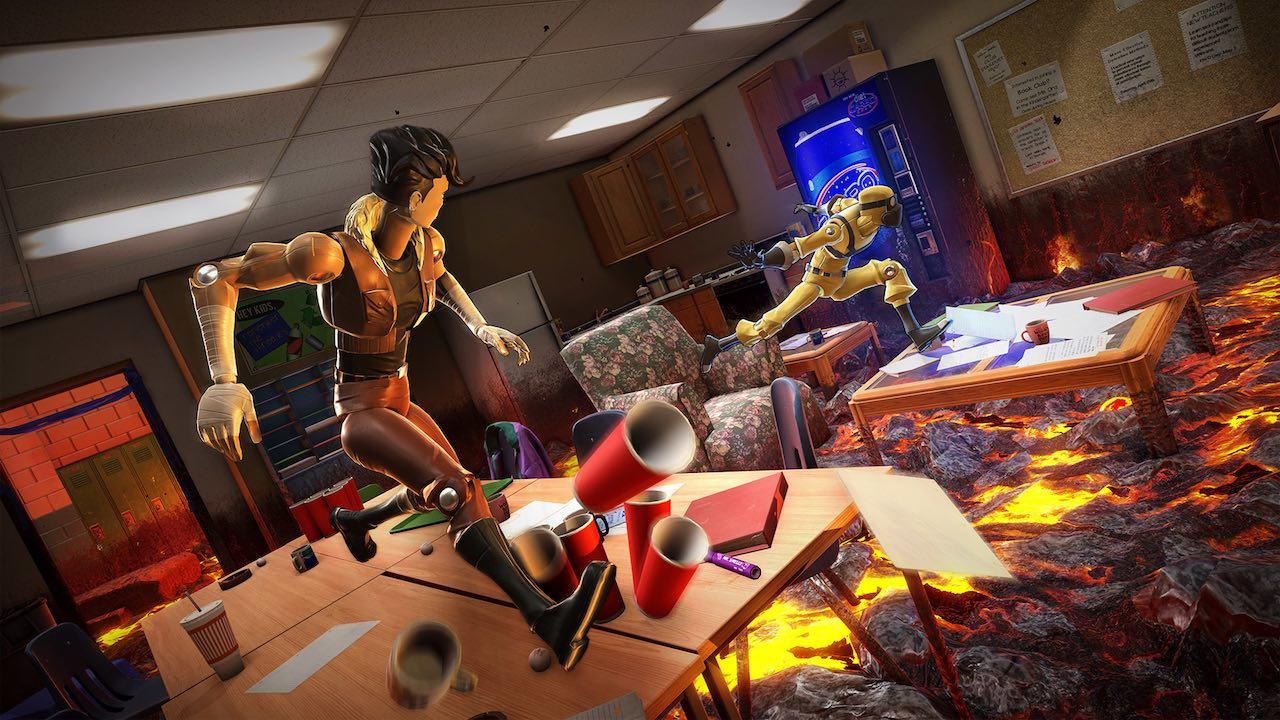 床が溶岩の世界を駆けるパルクールアクション『Hot Lava』Steam/Apple Arcadeにて9月20日に発売へ