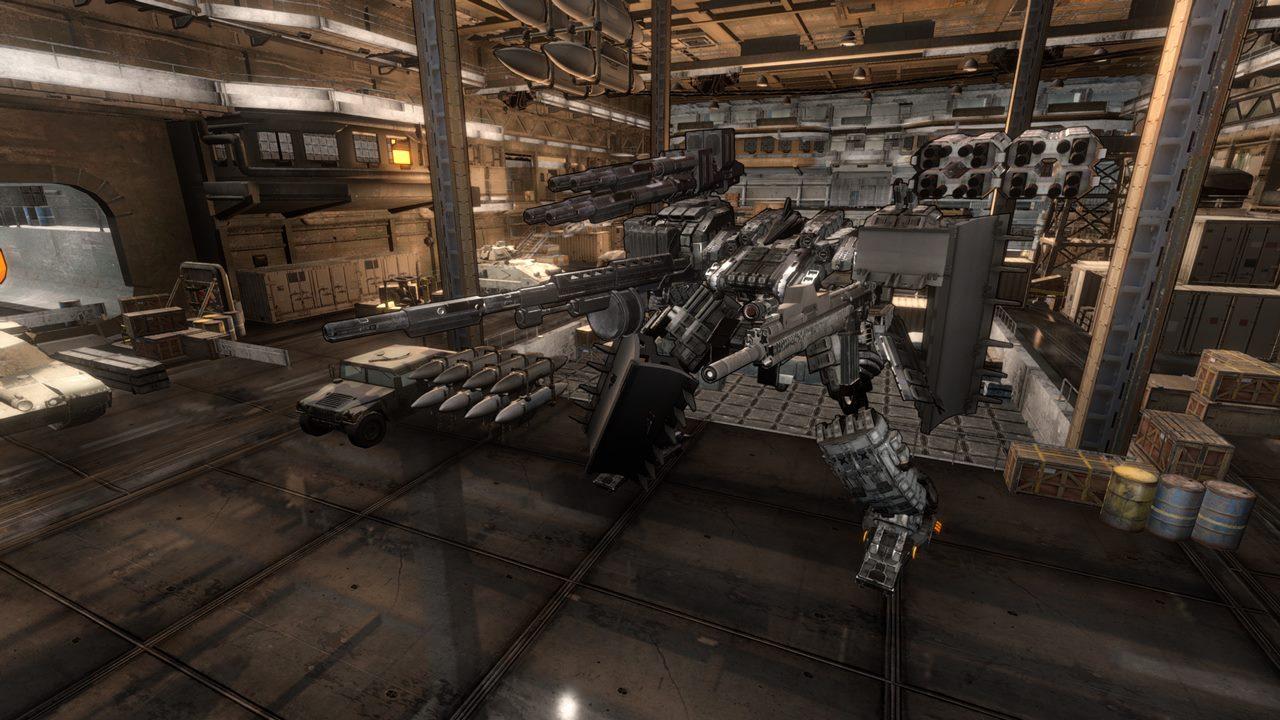 ロボットアクション『Mecha Knights: Nightmare』開発中。愛用機「Mobile Armor」をカスタマイズし搭乗、敵に立ち向かう
