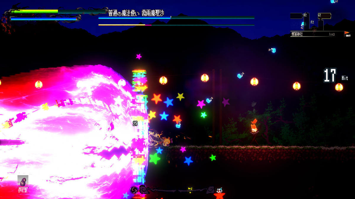 華美なドット絵2Dアクション『幻想郷萃夜祭』Steam早期アクセス配信開始。売り上げも絶好調で、一時は「全世界売り上げ上位」首位も