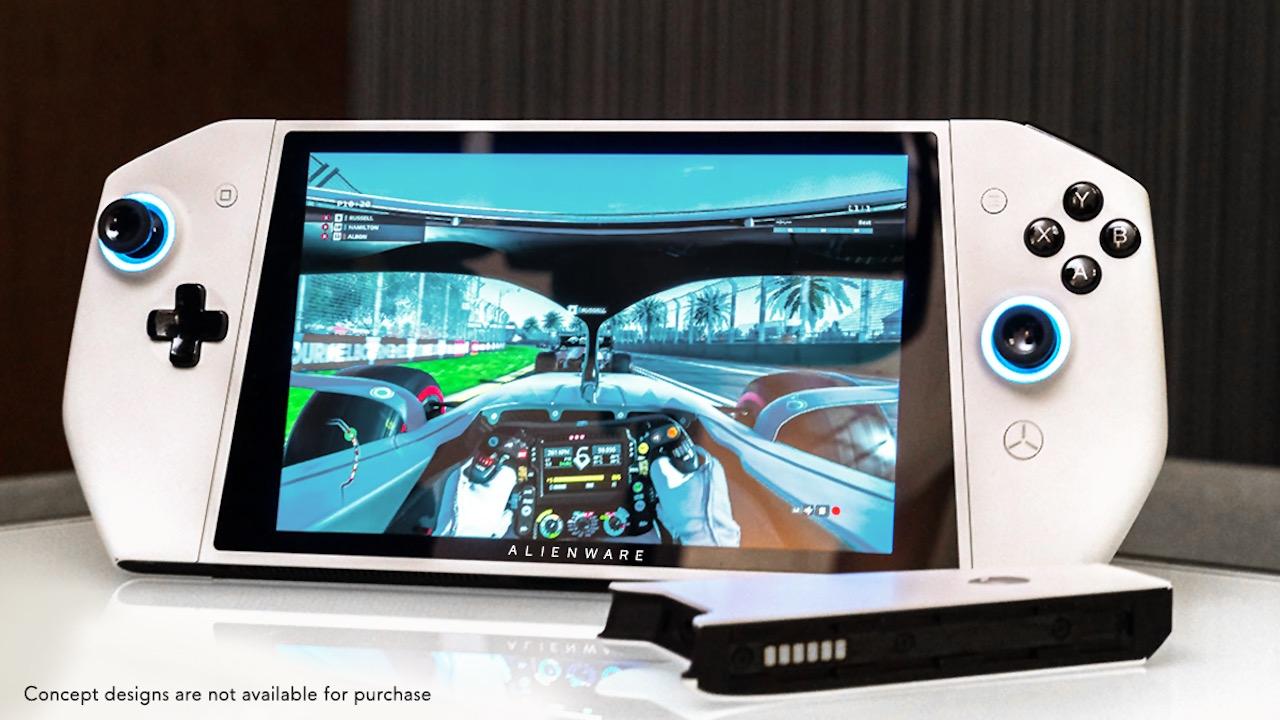 Nintendo Switch風ポータブル・ゲーミングPC「Concept UFO」ALIENWAREがコンセプトモデルを披露 - AUTOMATON