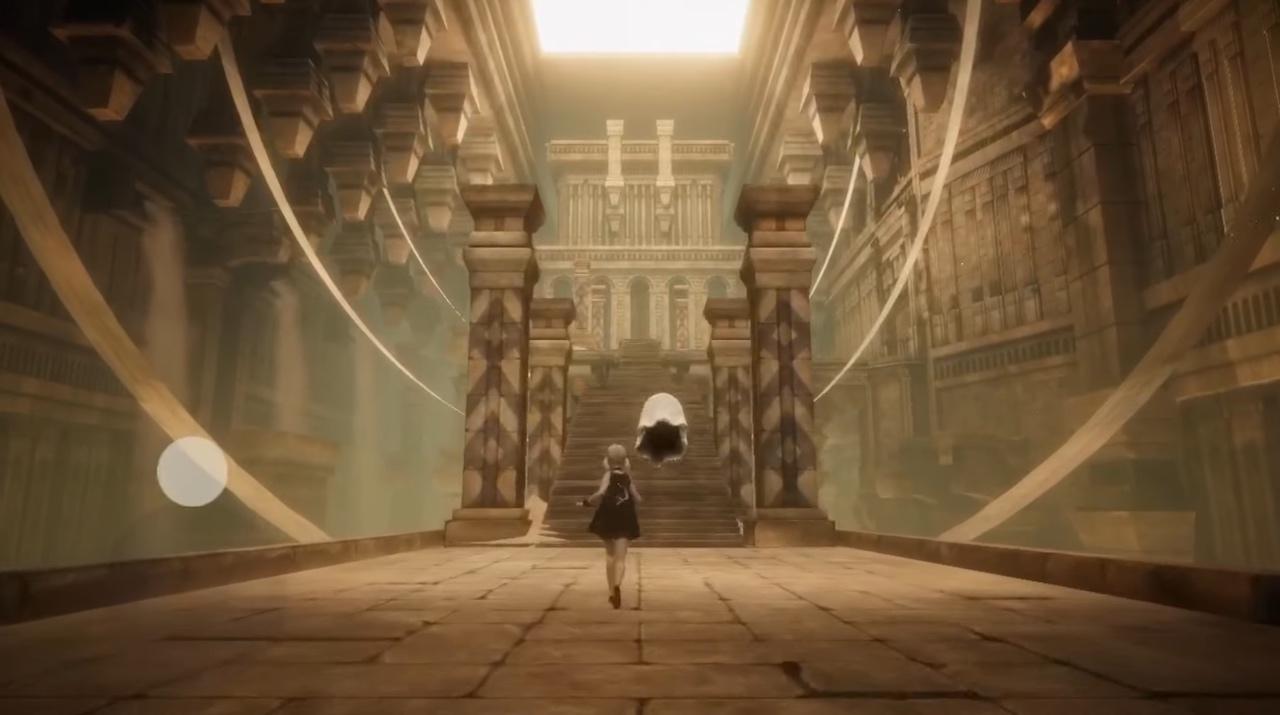 ニーア リィンカーネーション』実機プレイ動画公開。3Dの美しいフィールドを行く | AUTOMATON